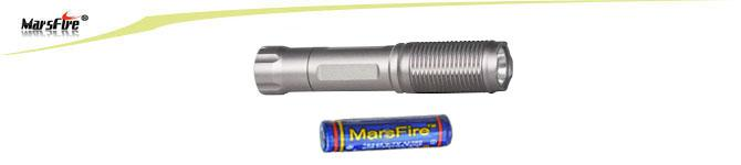 MarsFire CREE XP-G2 Mini LED Torch , 400lm LED Rechargeable Flashlight