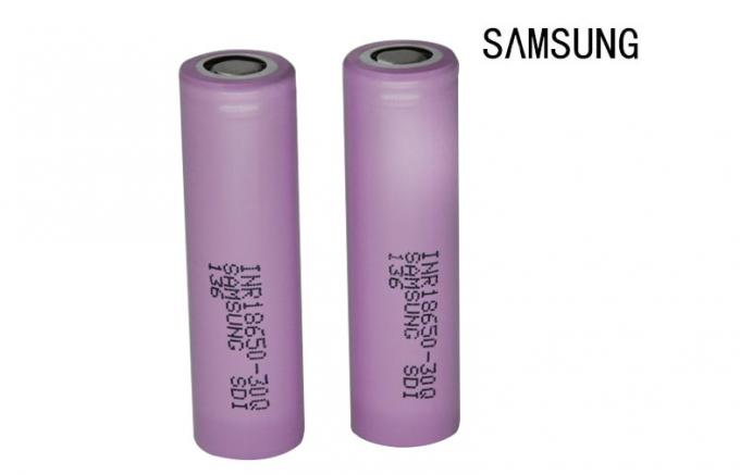 Electronic Cigarette Samsung 3000mah 18650 Battery CE Approval