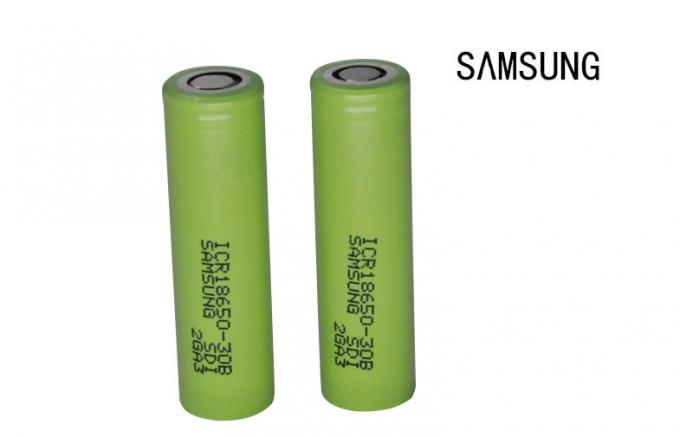 Electronic Cigarette high amperage 18650 battery Samsung 18650 30B 3000mAh