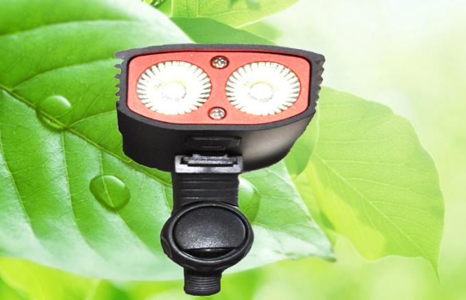 High Brightest Bike Light 1600Lm Rainning Water Proof 4h Run Time 7.4V