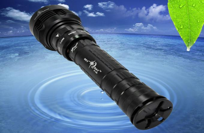 Aluminum Alloy LED Dive Torch