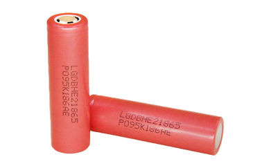 China LG HE2 18650 Batteries 2500mAh 3.6V Electronic Cigarette Battery High Drain supplier