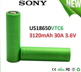 China 3000mAh SONY US18650VTC6 VTC6 18650 Battery For Medical Equipment supplier