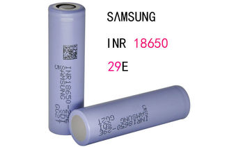 China 2900mAh Electronic Cigarette Battery / SAMSUNG High Amp 18650 Battery supplier