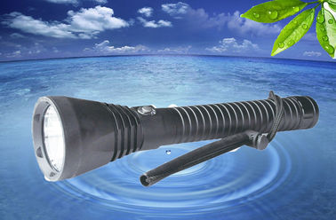 China Cree Rechargeable Diving Torch Light 100M 5 Mode Diving Torch High Brightest supplier