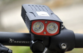 China High Brightest Bike Light 1600Lm Rainning Water Proof 4h Run Time 7.4V supplier