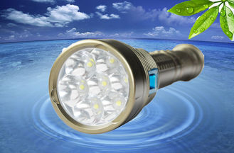 China MarsFire D-X5 7xXML2 5600LM led dive flashlight , underwater 100m waterproof diving torch supplier