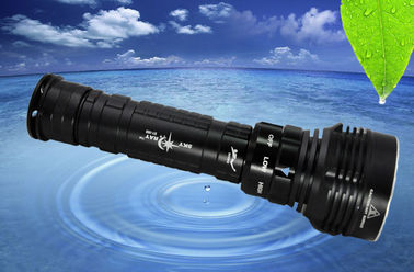 China Aluminum Alloy LED Dive Torch supplier