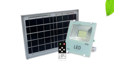 China Remote Control Solar Powered Street Lights 6500K Color Temperature For Night Fishing supplier