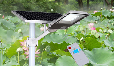 China Long Working Time Outdoor LED Spotlights , Solar LED Street Light 46.8Ah 3.7V Power supplier