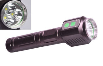 China High brightness Strong Rechargeable Tactical Flashlight for Searching supplier