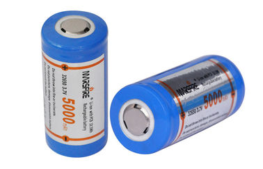 China High capacity 5000mAh lithium ion rechargeable battery for Flashlights supplier