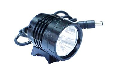 China Black Aluminum Alloy Led Bicycle Headlight for Mountain Bike supplier