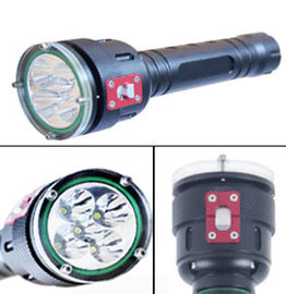 China 5 Led High Lumen LED Dive Torch 100m Underwater Led Diving Flashlight supplier