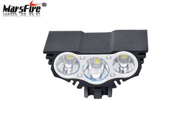 China Black LED Bicycle Headlight 8.4V Rechargeable Eye Mountain Bike Lights supplier
