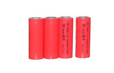 China Mini 1100mAh Electronic Cigarette Battery , 3.7V Lithium Ion Battery factory