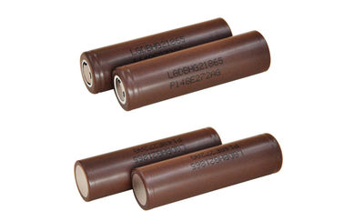 China LG HG2 Electronic Cigarette Battery , 3000mAh high drain 18650 rechargeable battery factory