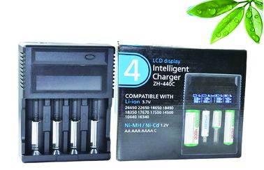 China LCD Li-ion / Ni-MH Lithium Battery Charger Multi Charger With CE FCC Approve distributor